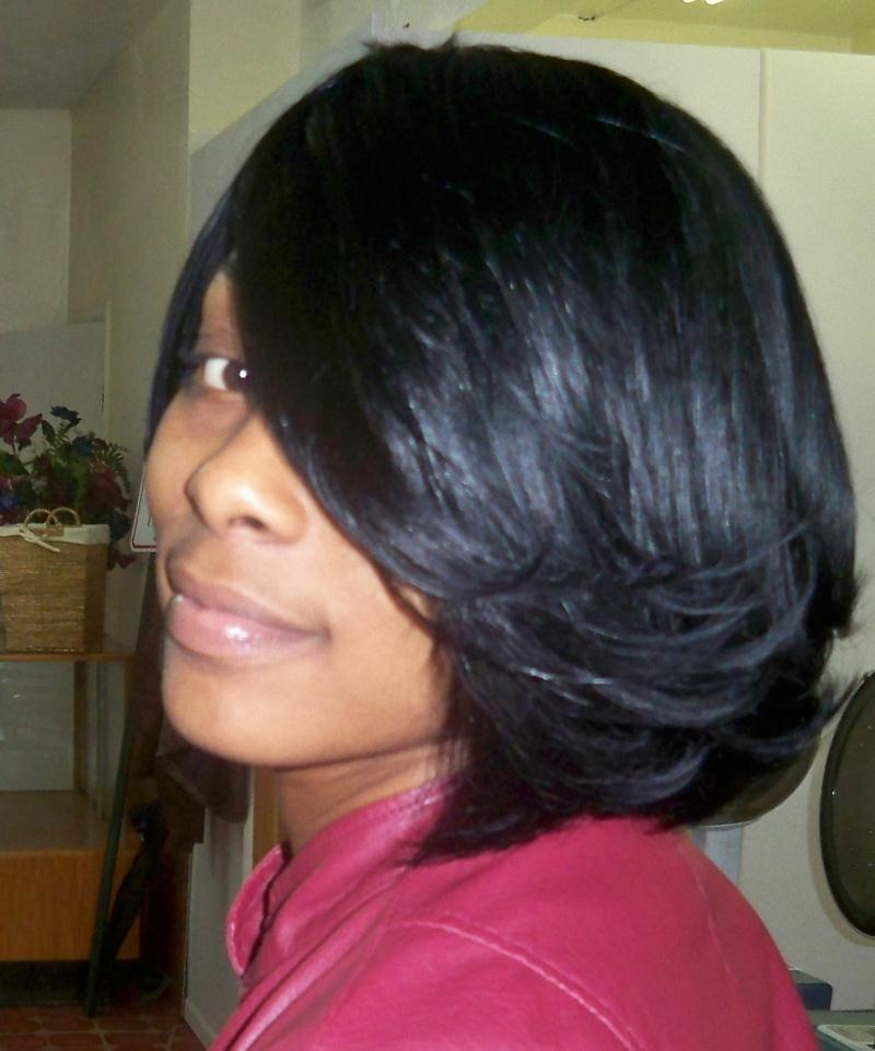 quick weave bob hairstyles for black women Quotes