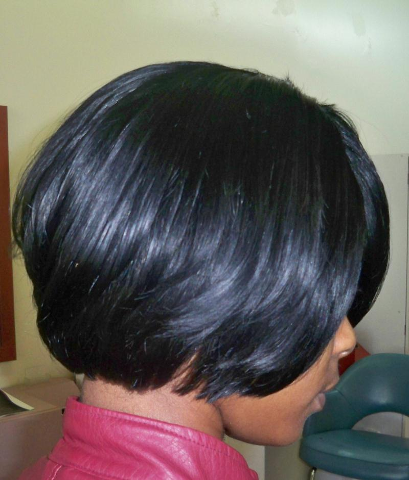 Quick Weave Bob Photography Hairstyles